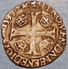 1590 P .France Monnaie Royale. Charles X . 1er type . aus 2c .