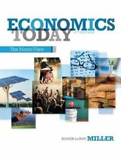 Economics Today : The Macro View by Roger LeRoy Miller (2013, Paperback)