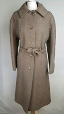 Snugkoat Womens Long Coat, Size 16, Brown, Pure New Wool, Good Condition