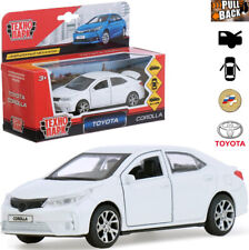 Diecast Metal Model Car Toyota Corolla White Toy Die-cast Cars