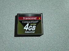 Transcend CompactFlash ultra 4 GB  Industrial Speicherkarte