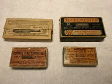 Lot Of 4 Empty Winchester Ammo Boxes
