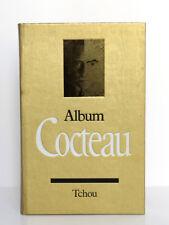 Album Cocteau, Pierre CHANEL. Tchou éditeur, 1970. Très nombreux documents