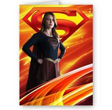 Supergirl A5 All Occasion Card With Envelope