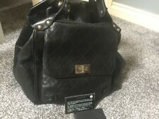 Chanel black caviar bag with SHW with card and tag excellent condition