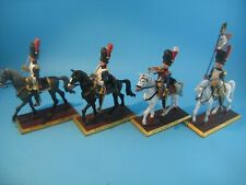 PLOMB - FIGURINES D'ARTISTES - BASE MDM - SERIE COMPLETE - 4  GRENADIERS