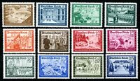 Deutsches Reich MiNr. 702-713 postfrisch MNH (G678