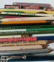 Junk Drawer Pencil Lot/Collection (21 count) Lindy Costa Advertising Mikado Lead