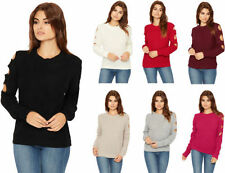 Acrylic Long Sleeve Machine Washable Regular Tops & Blouses for Women