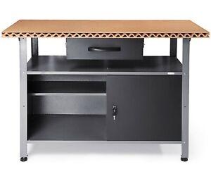 Ondis24 Werkbank Klaus Eco 🍂 Werktisch Werkstatt 120 cm Metall abschließbar
