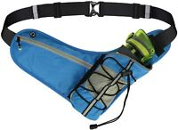 Running Belt with Water Bottle Holder, Hydration Running Belt Waist Pack