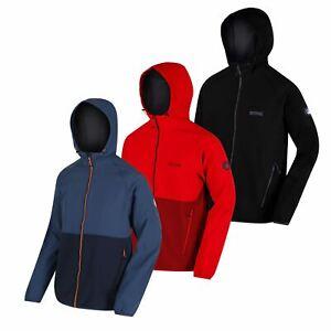 Regatta Arec II Mens Hooded Lightweight Breathable Softshell Jacket Outdoor Coat
