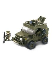 Sluban Army SUV Jeep Car Vehicle B0299 Military Building Block Military Not Lego