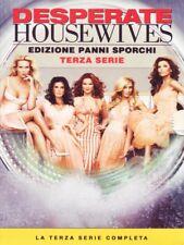 DESPERATE HOUSEWIVES - STAGIONE 3 (6 DVD) COFANETTO UNICO, ITALIANO, NUOVO