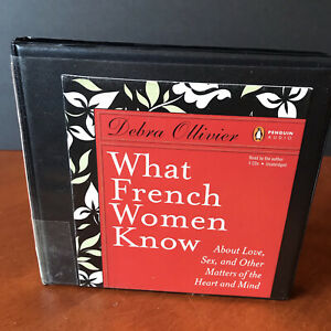 What French Women Know CD Audio Book Set Debra Ollivier Culture 2009 Love Sex