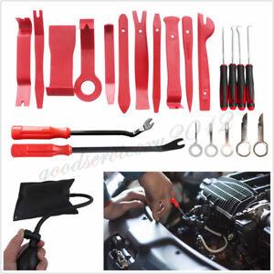 22 Pcs Car SUV Panel Removal Installer Tool Air Cushion Pad Set With Storage Bag