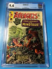 Avengers #17 1965 CGC 9.4 Off-White to White Pages Very Sharp!