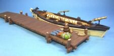 John Jenkins - Raid of St Francis - WHRR-02 Whaleboat with Jetty  - New in box