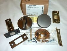 Falcon D261M B 613 X Turn Inside Blank Outside Deadbolt Dead Bolt DARK BRONZE