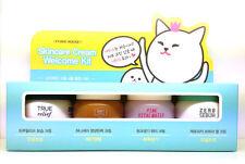 Etude House Skincare Cream Welcome Kit 40ml (10ml x 4) + Free Sample/ Korean