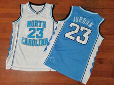 MICHAEL JORDAN #23 North Carolina Mens Basketball Jordan Retro Jersey