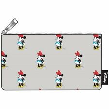 New Hot Loungefly Disney Minne Mouse Print Pencil Case Coins Cosmetic Case