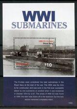 Bequia Grenadines St Vincent 2015 MNH WWI Submarines 1v S/S World War I Stamps