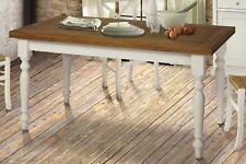Tavolo a Libro  Allungabile Bianco 90 X 90 Cm Piano Rovere