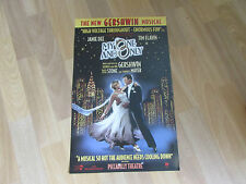 MY ONE and ONLY  New Gershwin Musical PICCADILLY Theatre Poster