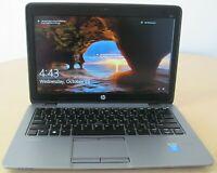 """HP EliteBook 820 G2 12.5"""" i7-5600U 2.6GHz 8GB 160 SSD 1920x1080 Win 10 Pro"""