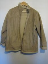 A LOVELY WOMENS PETER STORM BROWN FAUX SUEDE JACKET WITH WARM INNER SIZE 16