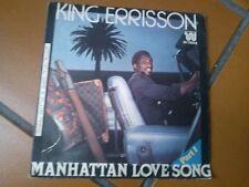 "7"" KING ERRISSON MANHATTAN LOVE SONG PART 1/2 ITALY EX+"