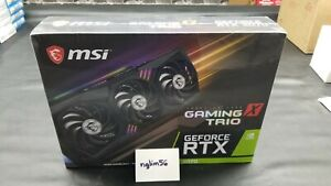 🔥BRAND NEW🔥MSI GeForce RTX 3070 GAMING X TRIO 8GB GDDR6 Graphics Card -IN HAND