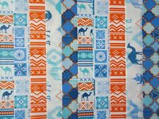10 JELLY ROLL STRIPS 100% COTTON PATCHWORK FABRIC MOROCCAN BAZAAR