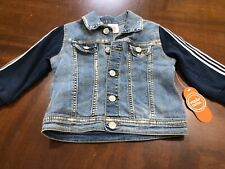 Baby Boys Toddler Wonder Nation Jean Jacket 18 Months Brand New With Tags