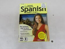 % SPANISH Instant Immersion Family Edition Spanish Levels 1 2 3 PC Mac