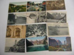 100 Older Foreign Postcard Lot 25