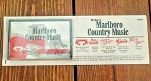 The Best of Marlboro Country Music Volume 3 Cassette (Sealed) Rare 80s Vintage