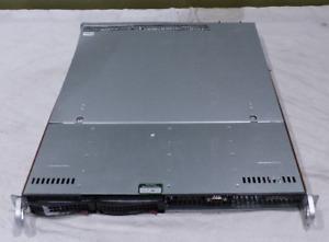 SUPERMICRO CSE-813M 1U E3-1286 3.70GHz 16GB 2*1TB +BLUEFISH EPOCH NEUTRON RAIZER
