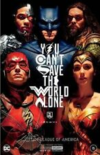 NYCC 2017 convention exclusive JUSTICE LEAGUE FOIL cover HIGH GRADE!!!!