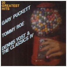 Gary Puckett, Classics IV, Tommy Roe - 20 Greatest Hits [New CD]