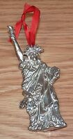 "Statue of Liberty July 1776 ""Noel"" 4"" Inch Metal Christmas Ornament **READ**"