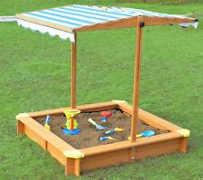 Sandbox with Canopy