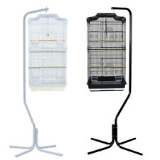 167cm Iron Tube Frame Parrot Canary Bird Cage Hanger Stand 4 Leg Support