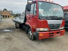2008 Nissan UD Flatbed Wrecker Rollback Tow Truck Double Loader