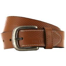 Billabong Intersect Antique Brown Leather Belt Large