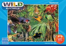 Blue Opal Jigsaw Puzzles Wild Australia Rainforest Puzzle 300pc Aussie Animals