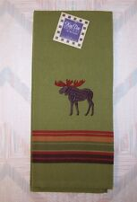 Moose Tea Towel Moose Embroidery Pattern Kay Dee