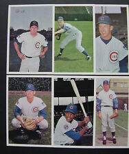 1969 Jewel Chicago Cubs PICK >ONE LOT, Holtzman Kessinger Beckert Hundley Hands