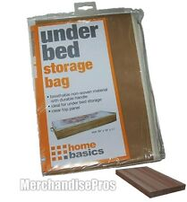 "UNDER BED STORAGE BAG ORGANIZER WITH CEDAR BLOCK 39"" x 18"" x 11"" NEW!"